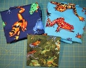 Fabric - 4.5 yards - Frogs, Frogs, and more Frogs - Quiltsy Destash Party