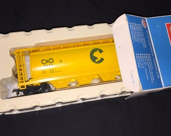 Vintage Model Power Chessie System C and O Toy Train Car