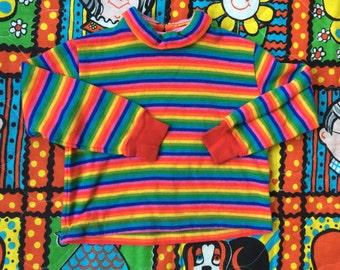 Handmade Rainbow Shirt 2/3T