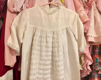 70s Baby Gown 9/12 Months