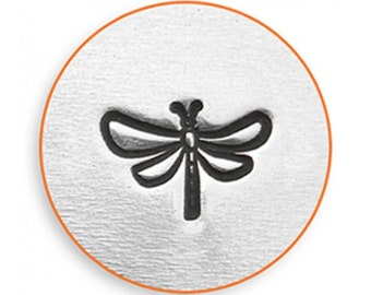 Impress Art 6mm Dragonfly Metal Stamp Design Stamp  Decorative Stamp