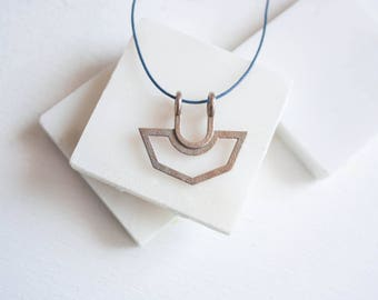 Octo Pendant // Minimalist Necklace / Long Minimalist Necklace / Long Geometric Necklace / Minimalist Long / Long Necklace with Pendant