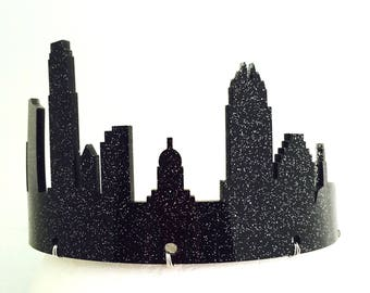 Austin Skyline Tiara - Custom Colors, Adult or Child Crown, Free Shipping