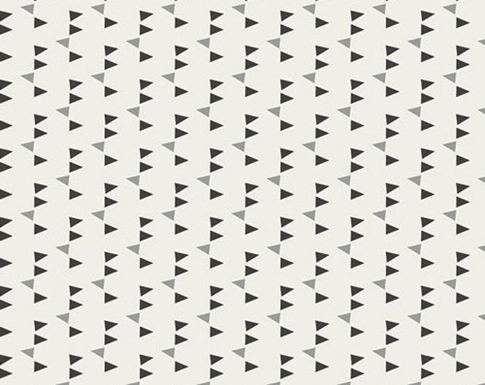 Boho fabric, Adventure fabric, Party Flag fabric by Art Gallery Fabrics- Confetti Noir, Black fabric, Fat Quarter, Half Yards, Yardage