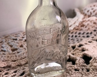 Vintage Clear Glass Doll-E-Toys By Amsco Baby Doll Bottle