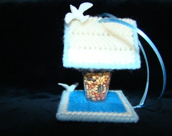 Mary Maxim Bird Feeder Ornament Favor Kit (Makes 4)