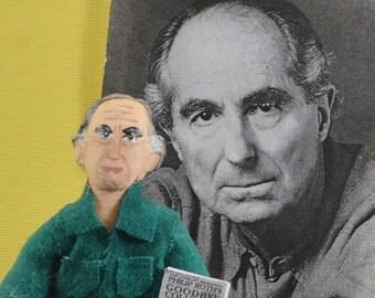 Philip Roth Author Doll Literary Figure Miniature Art Book Writer