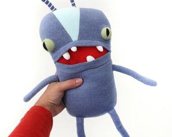 "Monster Plush Stuffed ""Birdie"" Mini Pocket Cotton Monster plushie"