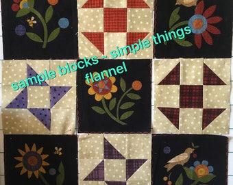 Simple Things Kit. Flannel