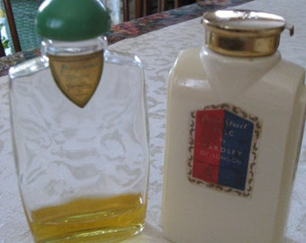 1930s-40s YARDLEY Collection BOND STREET Talc & Cologne