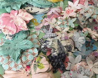 Craft and Applique Treasure Trove - Chock full of flowers, petals, butterflies and leaves - 650+ pieces... the possibilities are endless!