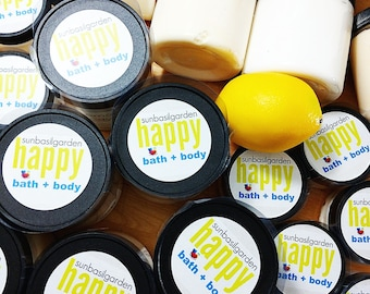 Gift for Her. Moisturizer. LEMON PIE Body Butter, LARGE 10 oz Jar. Tart Lemons with a hint of Pie. Coworker Gift. Best Friend Gift. Summer