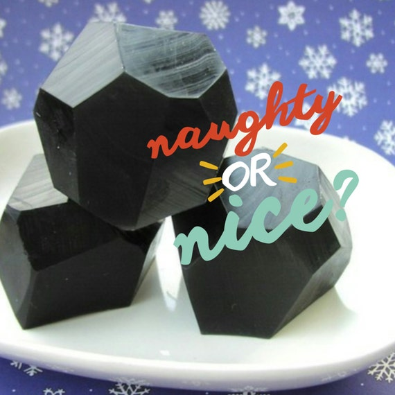Stocking Stuffer. COAL SOAP. Stocking stuffers for men. Christmas Stocking. Stocking stuffers for women. novelty gift. Funny Gifts. SBG