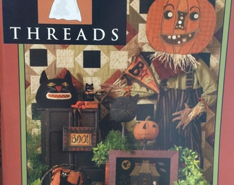 Needl' Love Quilting and Wool Project Book Haunted Threads