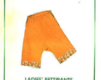 UNCUT Bloomers Pettipants Vintage Sewing Pattern Sew Lovely PP502 Hip 34-50