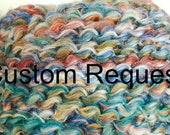 3  custom Throw blanket- order for Robin
