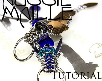 Chainmaille Tutorial - Baby Dragon Key Chain