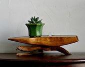 Natural Wood Riser, reclaimed wood, natural, rustic wood decor