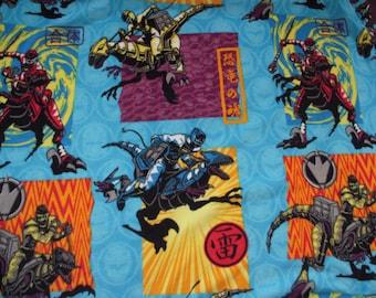 Power Rangers Fleece No-Sew Blanket