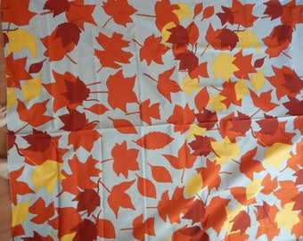 Marimekko by the yard, autun leaves, 56 wide, all cotton