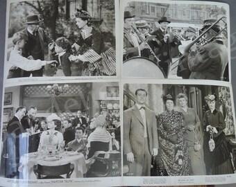 Lot of 19 Original 1940s Movie Stills, Myrna Loy, Ingrid Bergman, Boris Karloff