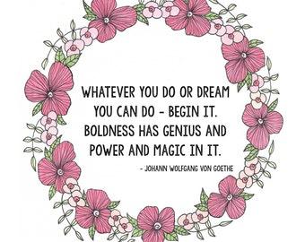 Magic, Inspirational Art, Dream, Magic, Power, Wall Art, Art Print
