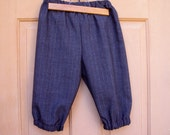 Dark grey charcole knickers with subtle stripe, childrens knickers size 8/10, Newsies knickers, Colonial knickers,