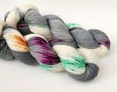 RAIN DROP - Hand Dyed Yarn - Signature Merino Nylon Sock Yarn Fingering - Ready to Ship - Vivid Yarn Studio