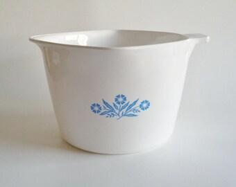 Vintage Corning Ware Cornflower Blue 2 Quart Saucemaker