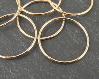 Gold Filled Stacking Ring 21mm ~ Size R/9/59 (CG9265)