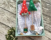 Oh Christmas Tree Set of Two Decorative Trees