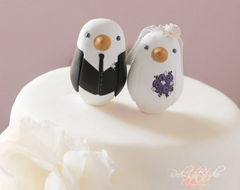 Love Bird Cake Topper - Wedding - Small