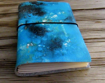 Under the Sea Journal with original art cover life travel journal by tremundo