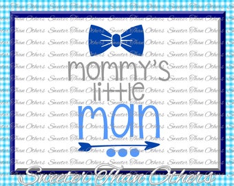 Baby Boy SVG, Mommys Little Man, onesie cut file, boy svg,baby cutting file Dxf Silhouette Cricut INSTANT DOWNLOAD, Vinyl Design, Htv