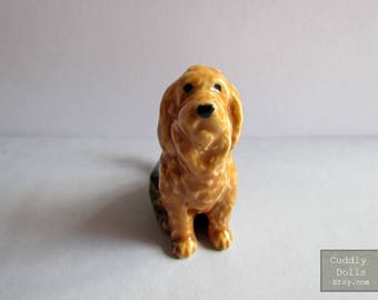 Otterhound Dog Porcelain Dog Figurine Otterhound Dog Figurine Dog Collector Ceramic Dog Figurine, Small Pet Collector Figurine Home Decor