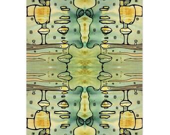 Tapisserie psych d lique etsy - Decoration chambre psychedelique ...