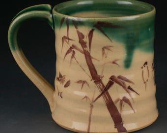 Bamboo & Birds Mug