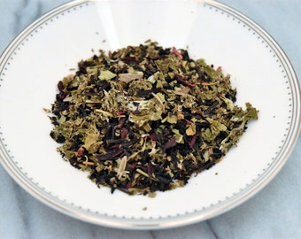 Organic Black Tea - Gaia: Hibiscus Berry sage