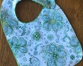 NEW...St. Patrick's Day Clover Baby/Toddler Bib