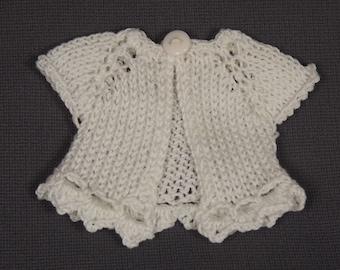BLYTHE CARDIGAN/BOLERO, Blythe outfit, Blythe clothes, Blythe knitted top/Blythe top