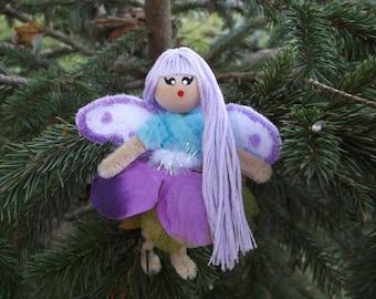 Chenille Stem Fairy Bendy Dolls