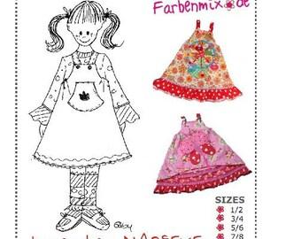 Farbenmix MARIEKE childrens dress sewing pattern