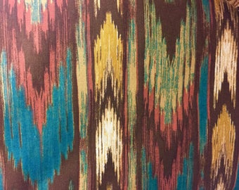 "Southwestern Valance Topper  New Window Curtain Treatment Cotton Fabric 42""W x 15""L"