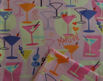 Cocktail Napkins. Girls Night Out.  Luncheon or Dessert Napkins. Great Bridal Shower or Housewarming Gift. Set of 6.