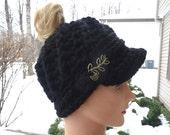 Custom Order for Linda Messy Bun Ponytail Hat