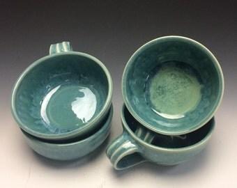 Teal Soup Mug