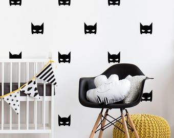 Beau Batman Wall Decal | Etsy