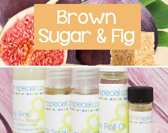 Brown Sugar Fig Perfume, Perfume Spray, Body Spray, Perfume Roll On, Perfume Sample, Dry Oil Spray, Fig Perfume, You Pick the Product