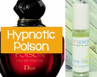Hypnotic Poison Perfume Roll On, Roll On Perfume, Rollerball, Purse Perfume, Hypnotic Poison