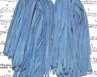 Rug Hooking Wool Strips Evening Blue Gradations Number 6 Dorr Wool Hand Dyed New
